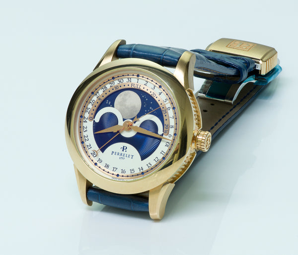 gold watch perrelet