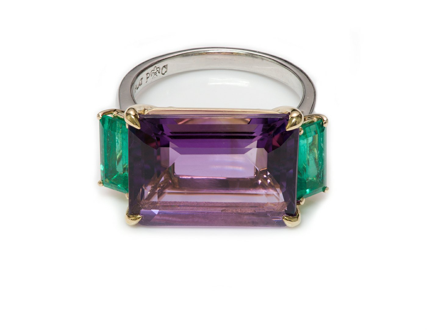 amethyst-emerald-platinum-ring