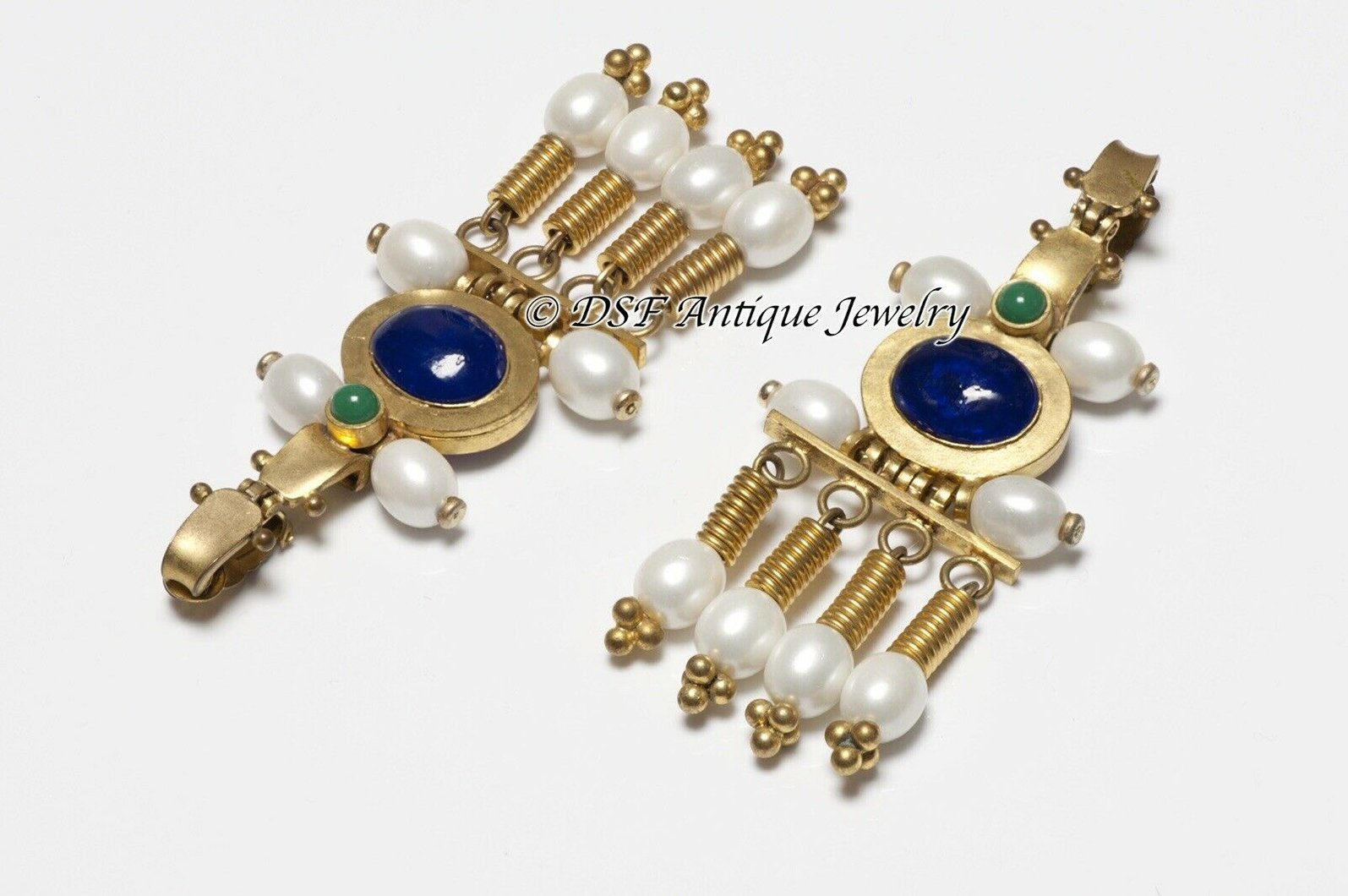 https://dsfantiquejewelry.com/products/chanel-paris-1970-s-gripoix-byzantine-style-pearl-blue-green-glass-earrings