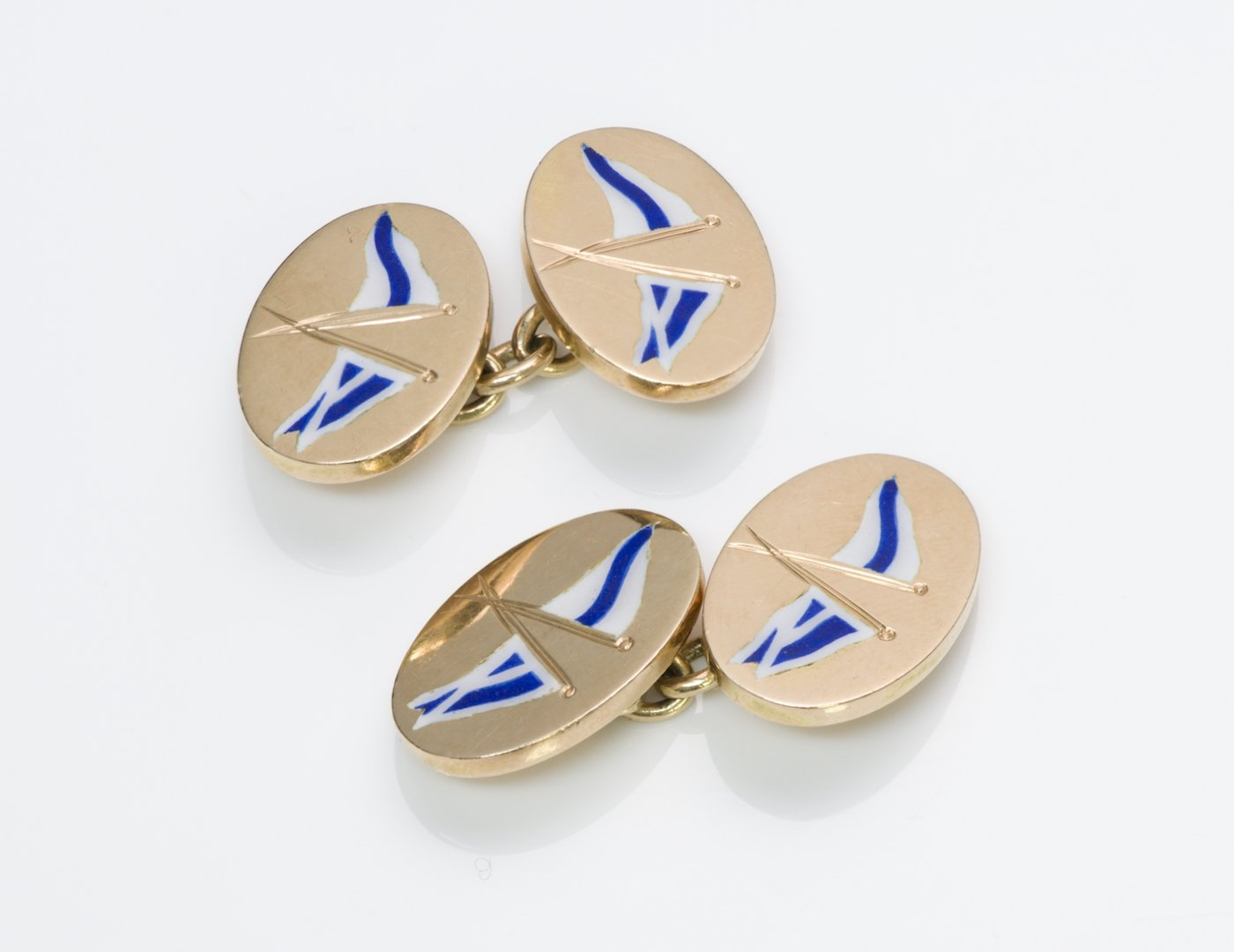 Whale Tail Cufflinks Blue Whale Cuff Links Angled Edition