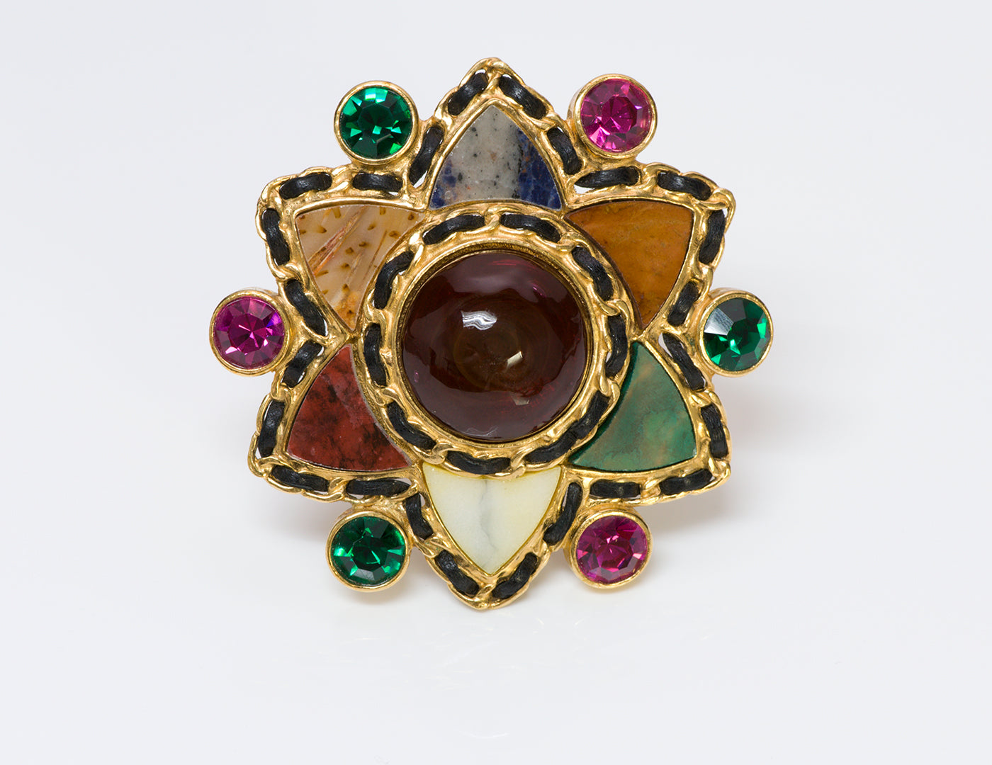 chanel-couture-gripoix-agate-star-brooch