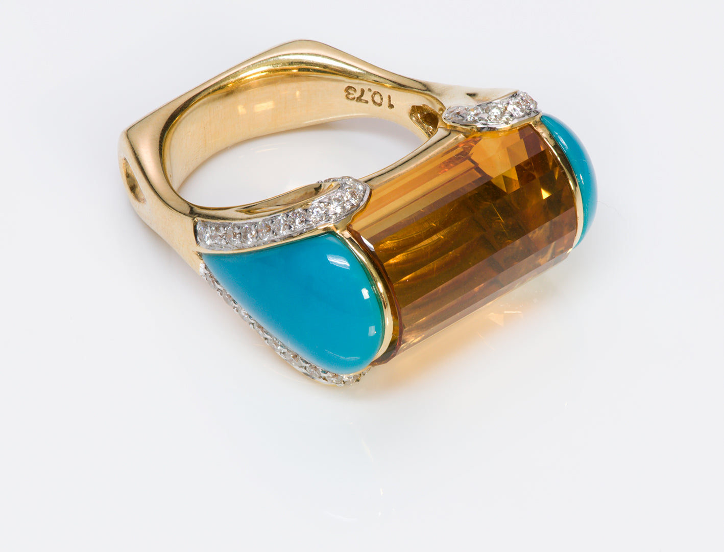 citrine-turquoise-diamond-18k-gold-ring