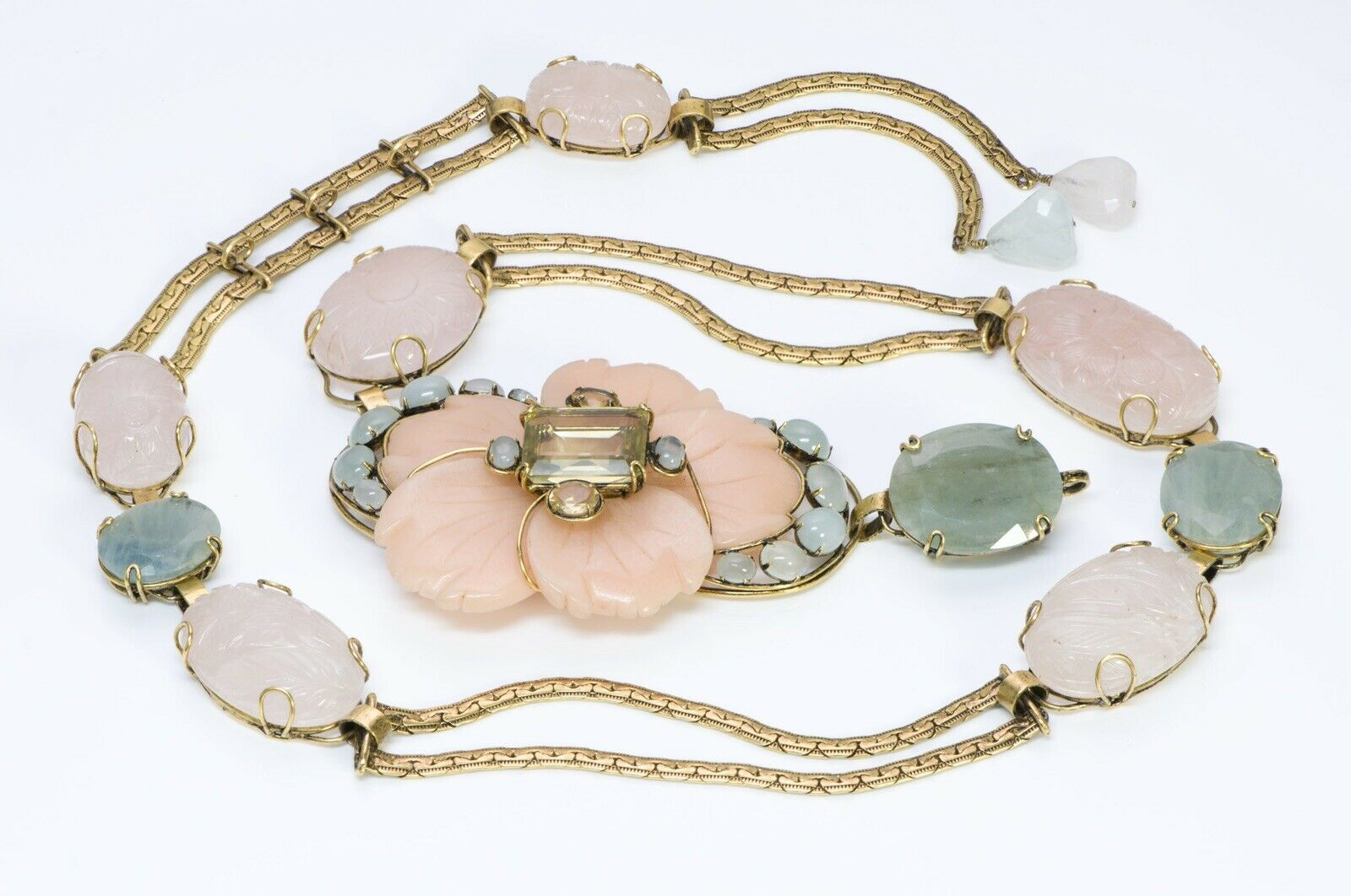 iradj-moini-agate-flower-carved-semiprecious-stone-chain-belt