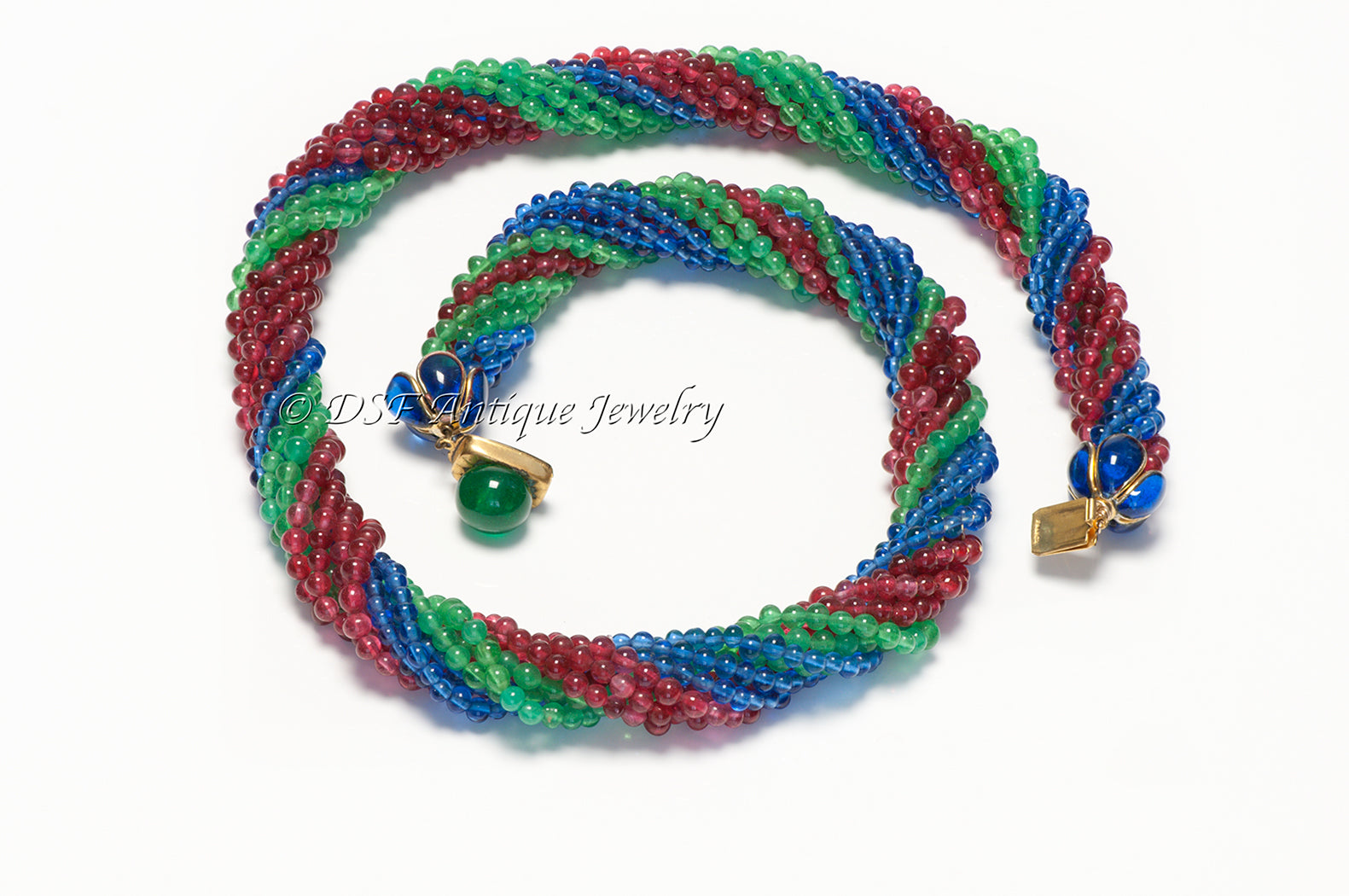 coco-chanel-gripoix-1930-s-blue-green-red-glass-beads-necklace