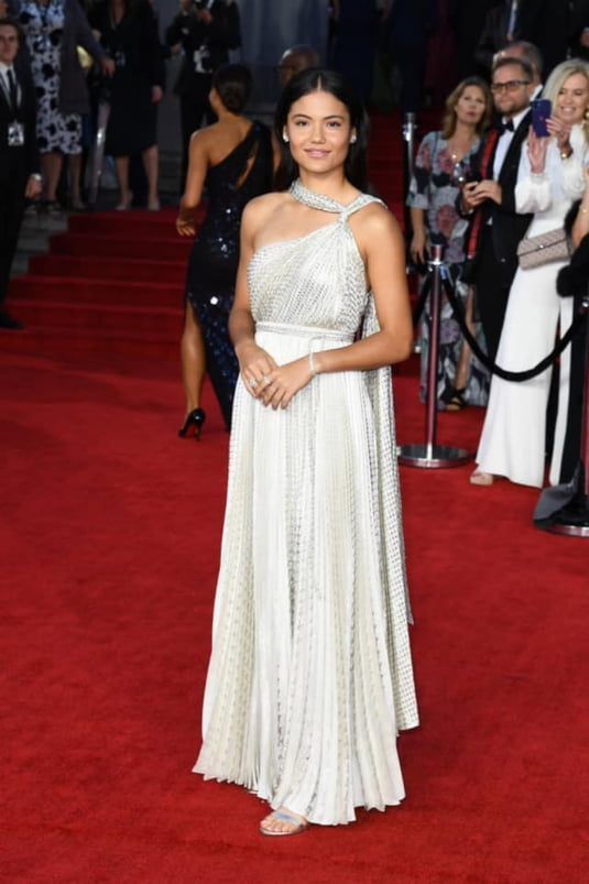 Emma Raducanu Shines The Red Carpet With Her Tiffany & Co. Jewelry