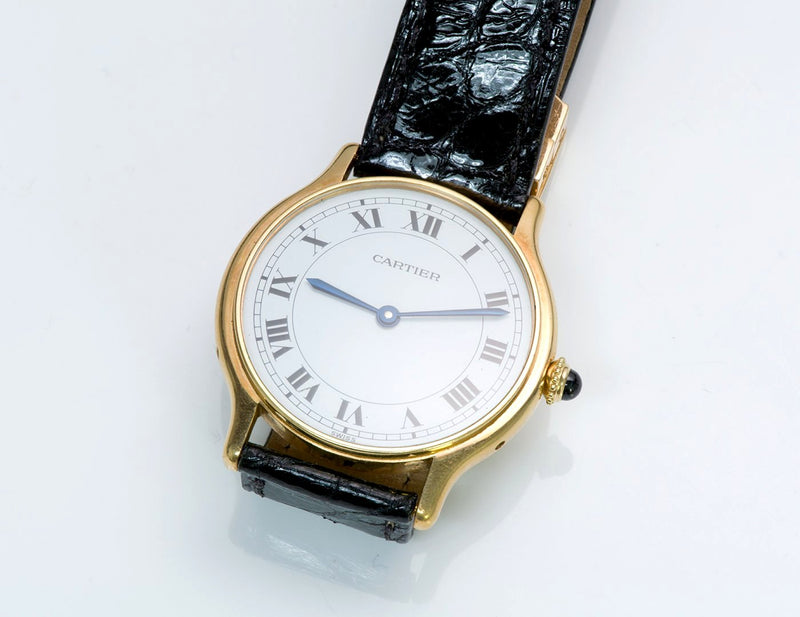 Cartier Paris 18K Yellow Gold Watch