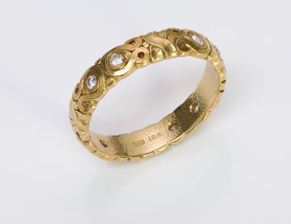 Alex Sepkus 18K Yellow Gold Band Ring 1