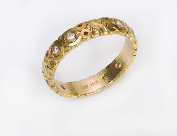 Alex Sepkus 18K Yellow Gold Band Ring