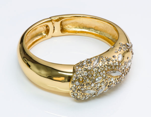 Alexis Bittar Crystal Bangle Bracelet