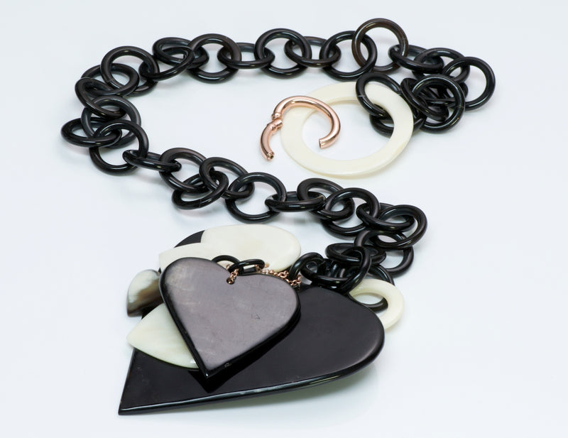 Amle Silver Heart Necklace