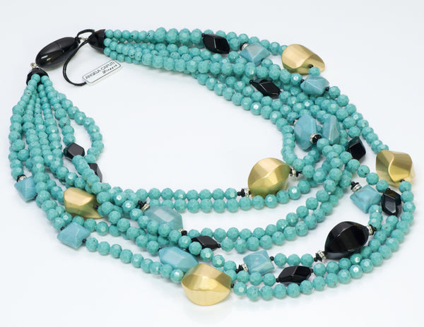 Angela Caputi Faux Turquoise Necklace