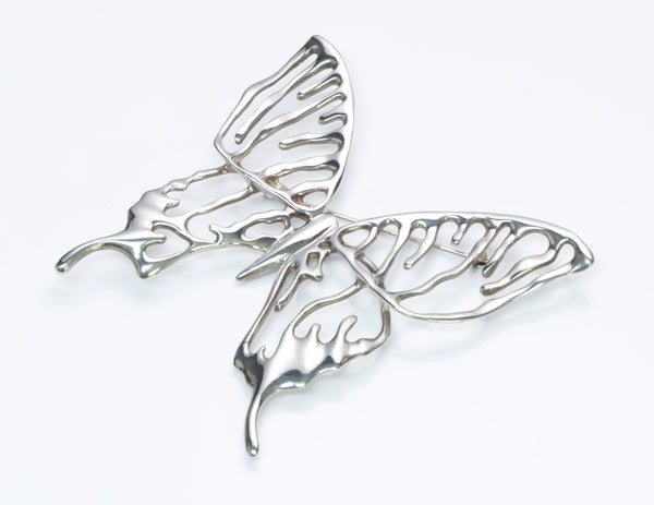 Angela Cummings Silver Butterfly Brooch
