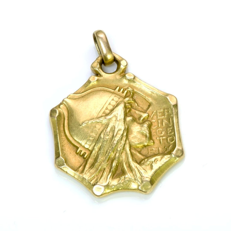 Emile Vernier Antique Viking Pendant