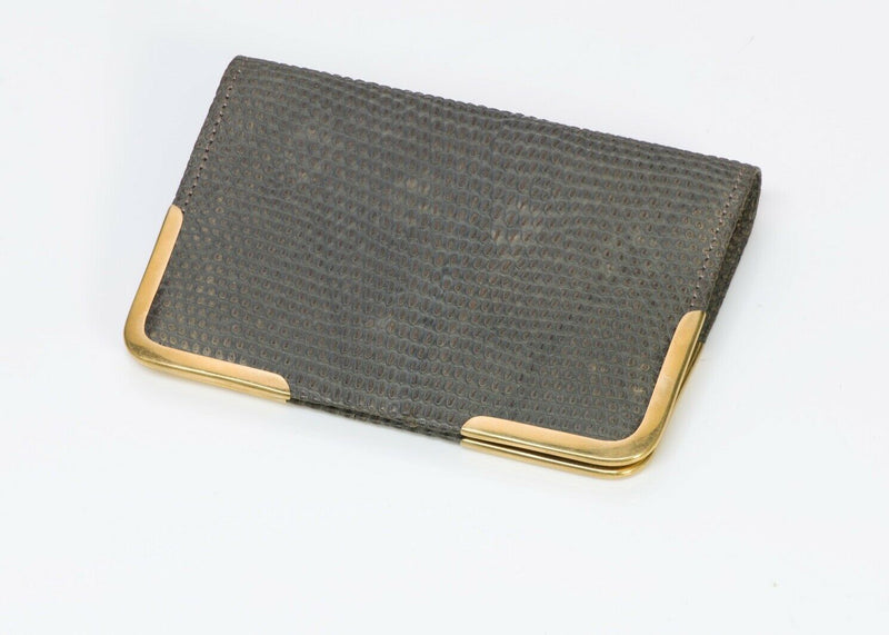 Antique Tiffany & Co. Lizard 18K Gold Wallet