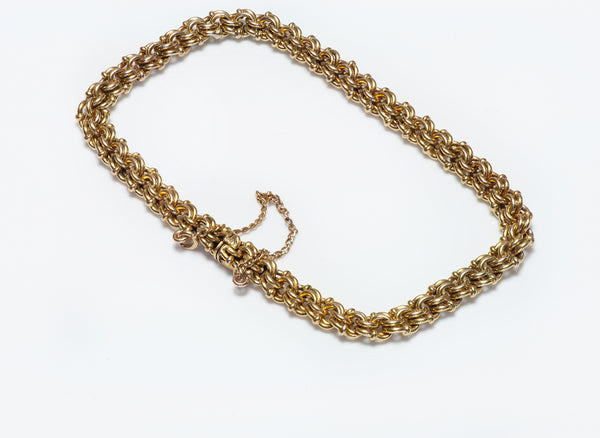 Antique Russian Yellow Gold Bracelet