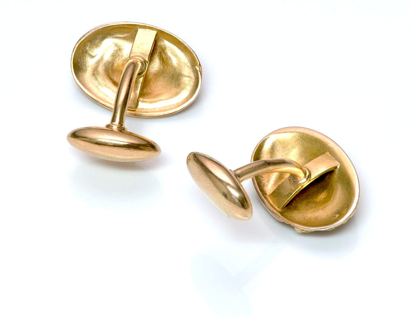 Antique Yellow Gold Cufflinks