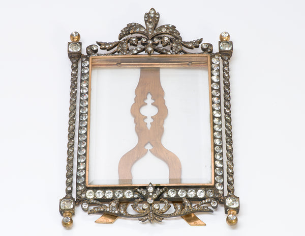 Antique Paste Picture Frame