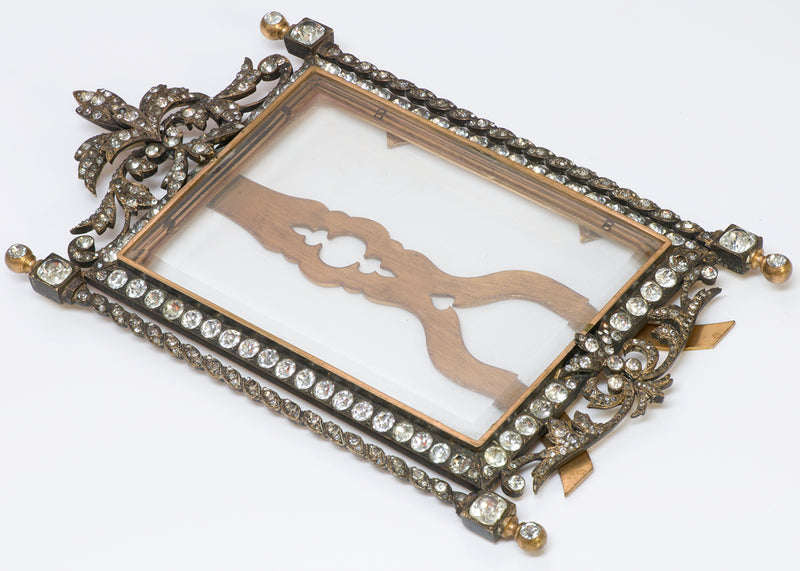 Antique Victorian Paste Picture Frame