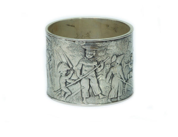 Antique Tiffany & Co. Antique Silver Children's Napkin Ring