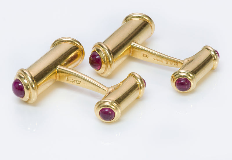 Asprey 18K Gold Cufflinks