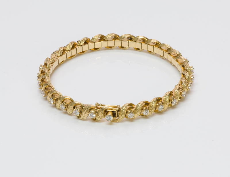 Atelier Munsteiner Gold Diamond Bracelet