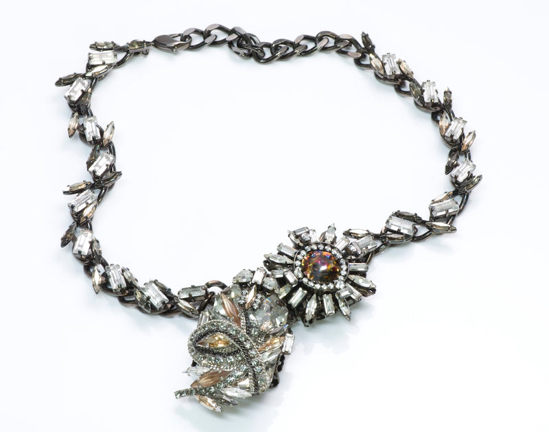 Erickson Beamon Crystal Costume Jewelry Necklace