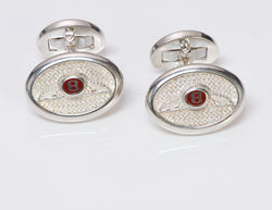Bentley Sterling Silver Cufflinks