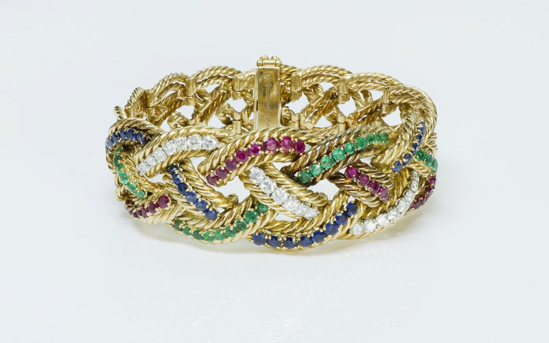 Boucheron Diamond Gold Bracelet