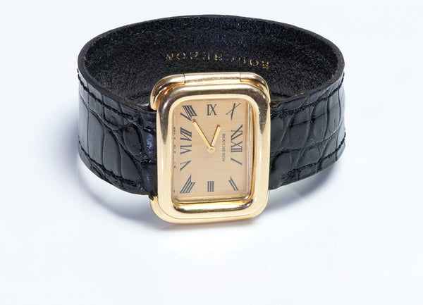 Boucheron 18k Gold Watch