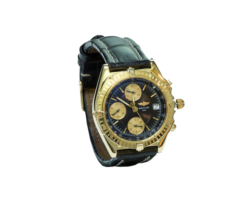 Breitling Chronomat Vitesse K13050.1 18K Gold Automatic Watch