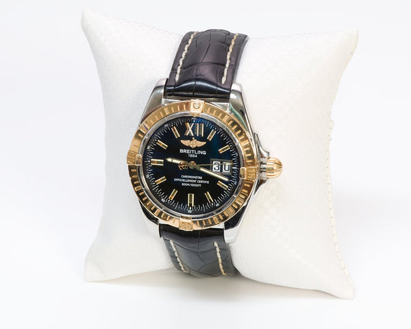 Breitling Cockpit Gold Watch C49350