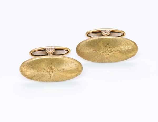 Buccellati Gold Cufflinks