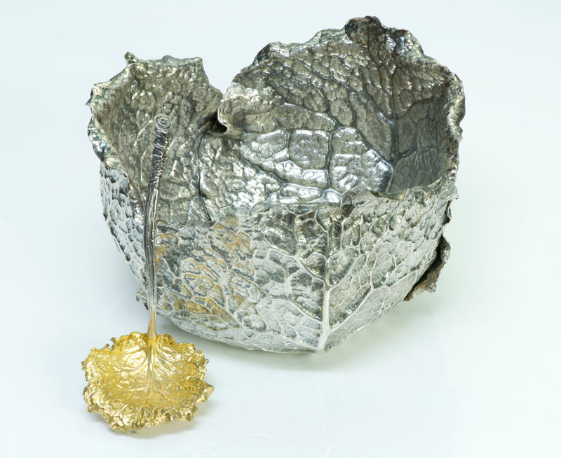 Buccellati Sterling Silver Cabbage Bowl