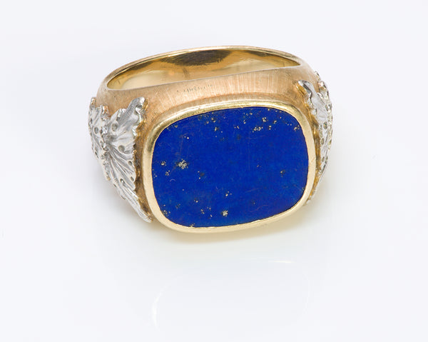 Buccellati Gold Lapis Ring