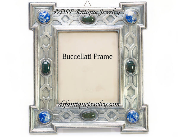 Buccellati Silver Large Picture Frame