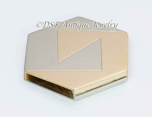 Bulgari Gold Hexagon Money Clip