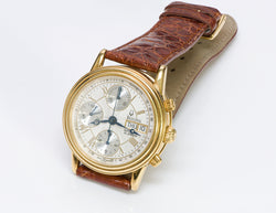 Bulova 18K Gold Chronograph Automatic Watch 60C00