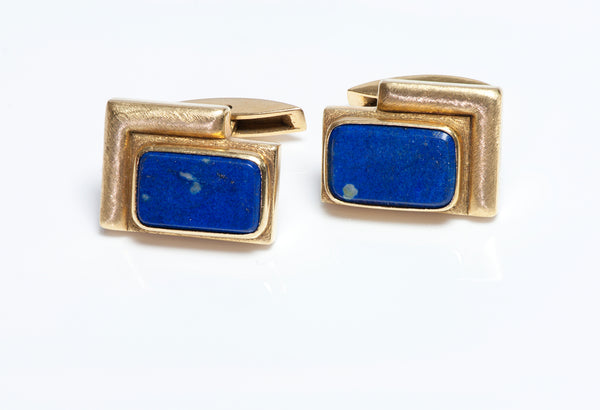 Burle Marx Gold Cufflinks