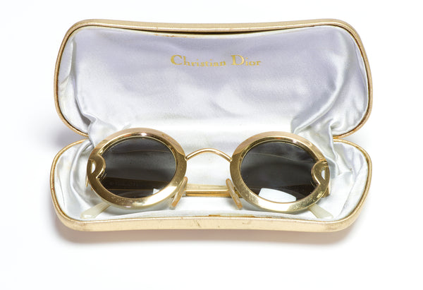 Vintage Christian DIOR 2918 Round Women's Sunglasses