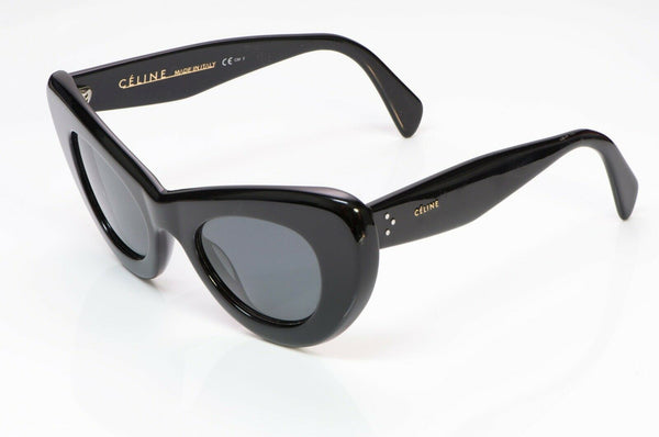 CELINE CL 41055/S Papillon Cat Eye Sunglasses Black