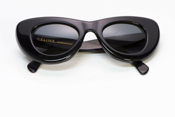 CELINE CL 41055/S Black Papillon Cat Eye Sunglasses
