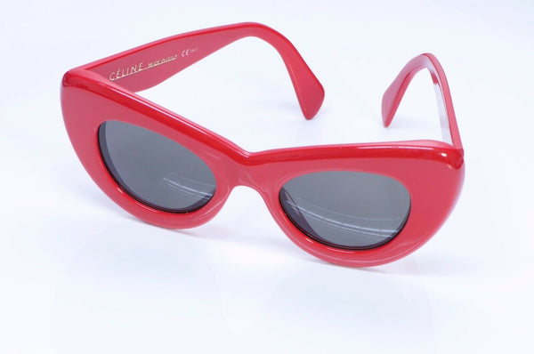 CELINE CL 41055/S Papillon Red Cat Eye Sunglasses 2