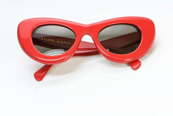 CELINE CL 41055/S Papillon Red Cat Eye Sunglasses