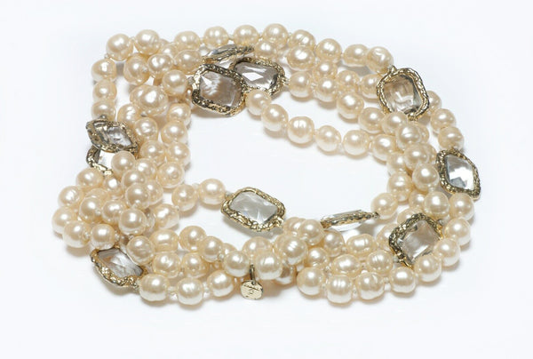 CHANEL Pearl Infinity Sautoir Necklace