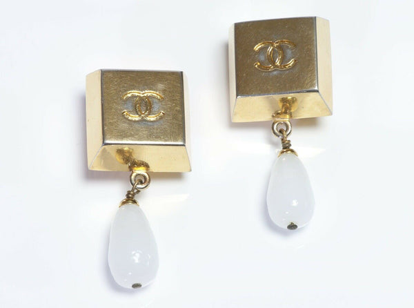 Chanel Maison Gripoix Geometric Earrings