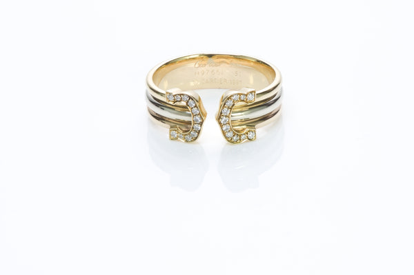 Cartier CC Gold Ring