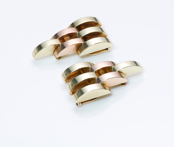 Cartier Retro Gold Dress Clips
