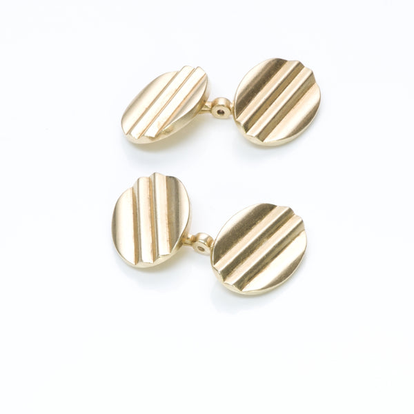 Vintage Cartier Gold Cufflinks