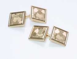 Cartier Gold Cufflinks