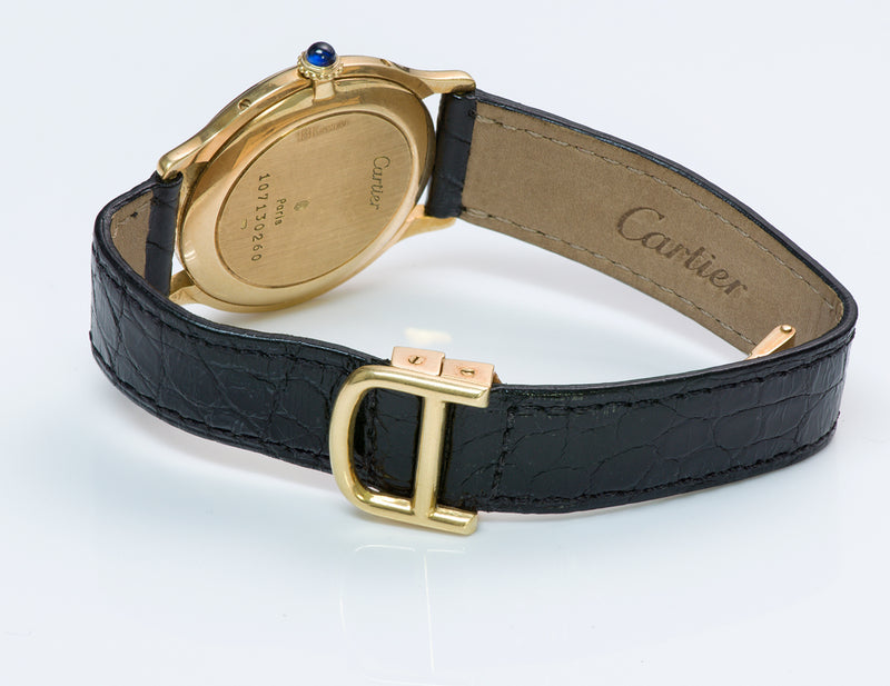 Cartier 18K Yellow Gold Watch